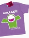 Uuuaaaah! - Kids Shirt lila