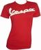 Vespa Girl Shirt in Metallbox - Rot