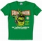 x LOGOSHIRT - GREEN LANTERN SHIRT - DC COMICS - GRÜN