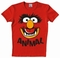 Logoshirt - Muppets - Faces Animal Shirt - Rot