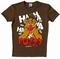 Logoshirt - Muppets - Fozzy Shirt - Braun
