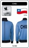 CHILE RETRO TRAININGSJACKE