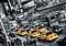 x FOTOTAPETE - RIESENPOSTER - NEW YORK - TAXIS