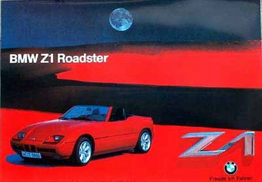 taschen logoshirt pr sentiert von klang und kleid bmw z1 roadster 1987. Black Bedroom Furniture Sets. Home Design Ideas