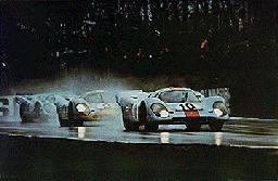 Gulf Porsche 917. Brands Hatch 1970