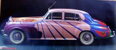 Bentley S1-Beatles Poster