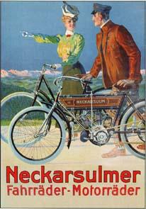 NSU Fahrrad - Motorrad
