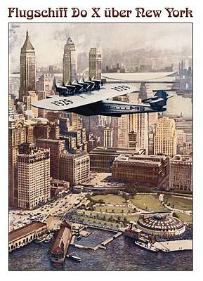 Flugschiff Dornier Do X