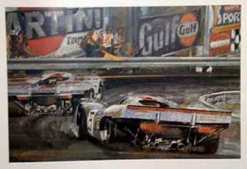 Porsche Poster - Rennsport Faszination