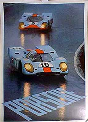 Gulf Porsche 917s