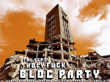 Crosshair Dan MacAdam Plakat Bloc Party