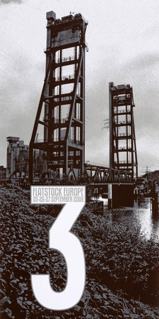 Crosshair Dan MacAdam Plakat Flatstock Europe 3