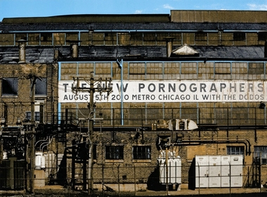 Crosshair Dan MacAdam Plakat New Pornographers