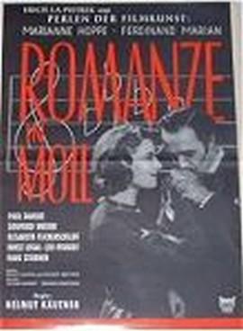 Romanze in Moll Plakat