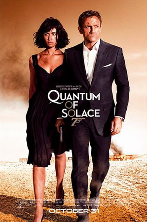 James Bond: Quantum of Solace - Poster