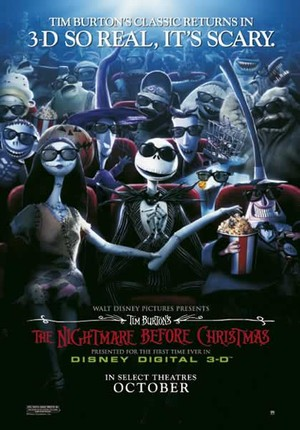 Nightmare Before Christmas - Poster