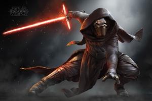 Star Wars: Episode 7 Poster Kylo Ren