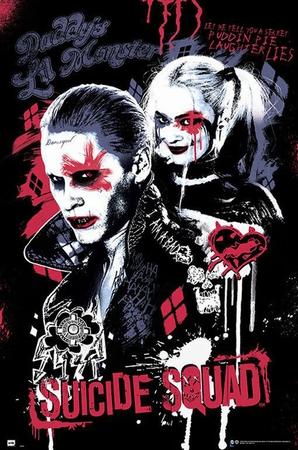 Suicide Squad Poster Joker & Harley Quinn