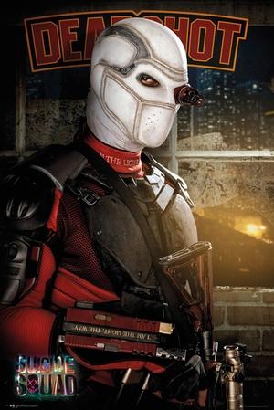 Suicide Squad Poster Deadshot