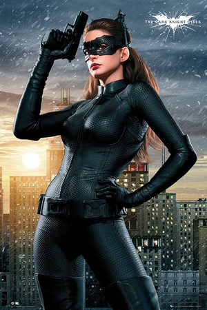 Batman - The Dark Knight Rises Poster Catwoman
