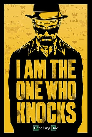 Breaking Bad Poster I am the one who knocks