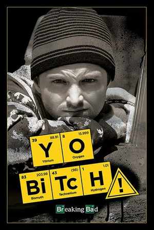 Breaking Bad Poster Yo Bitch! - jesse pinkman