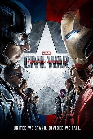 Captain America Civil War Poster United we stand