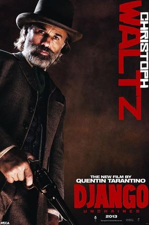 Django Unchained Poster Dr. King Schultz