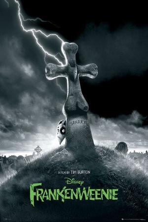 Frankenweenie Poster Teaser