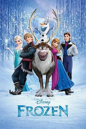 Frozen Poster Die Eiskönigin Cast