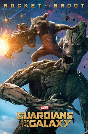 Guardians of the Galaxy - Rocket & Root