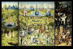 Hieronymus Bosch Poster Garden Of Earthly Delights