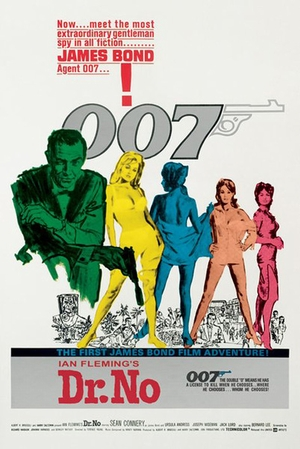 James Bond Poster Dr.No