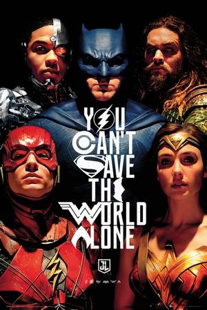 Justice League Poster Faces