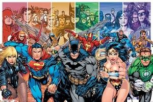 Justice League Poster Gerechtigkeitsliga