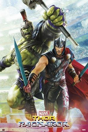 Marvel Thor Ragnarok Poster