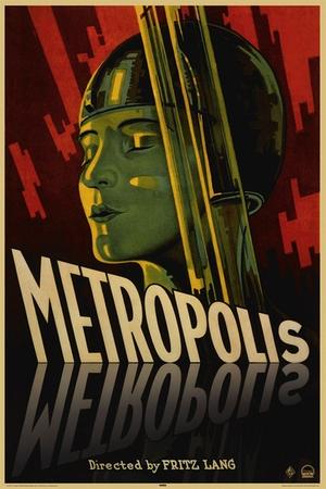 metropolis filmplakate pr sentiert von klang und kleid plakat kaufen versand deutschland. Black Bedroom Furniture Sets. Home Design Ideas