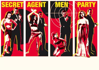 Secret Agent Man Party