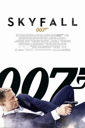 Skyfall Poster 007 James Bond