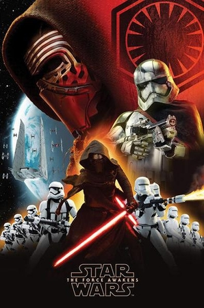 Star Wars: Episode 7 Poster First Order Collage