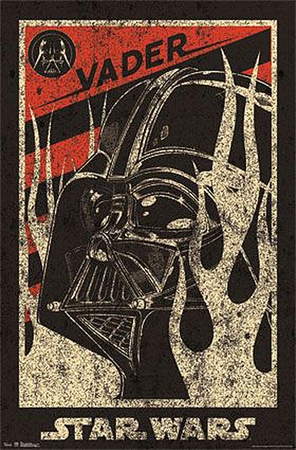 Star Wars Poster Darth Vader Propaganda