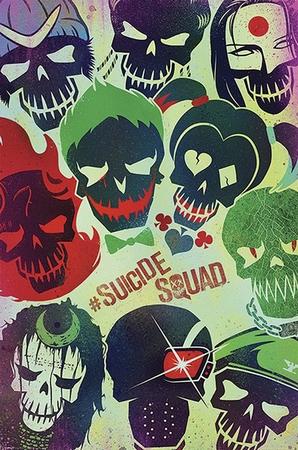 Suicide Squad Poster Faces