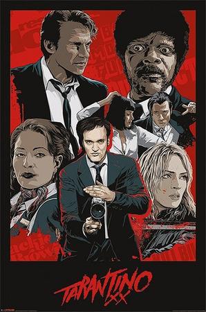 Tarantino XX Poster Movie Artwork