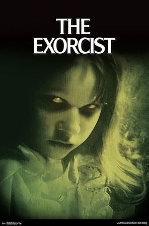 The Exorcist Poster Eyes