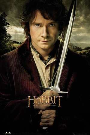 The Hobbit Poster Bilbo und Stich