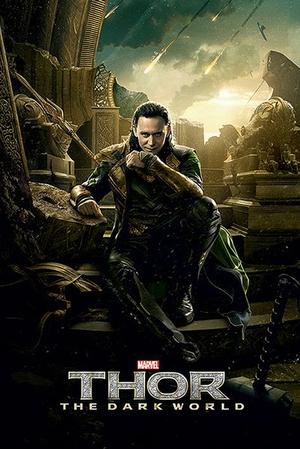 Thor 2 The Dark World Poster Loki
