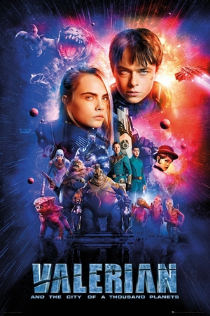 Valerian and the City of 1000 Planets Poster Duo