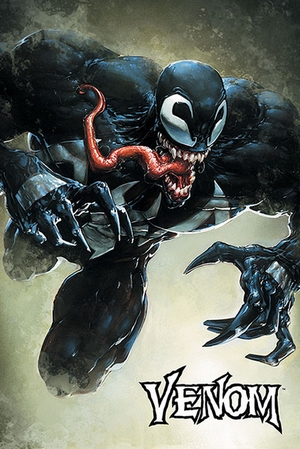 Venom Leap - Marvel Comics Poster