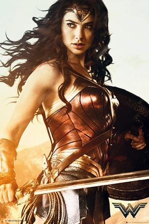 Wonder Woman Poster Sword