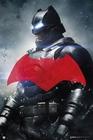 Batman vs Superman Poster Batman rotes Logo
